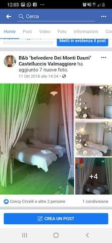 Castelluccio Valmaggiore的民宿