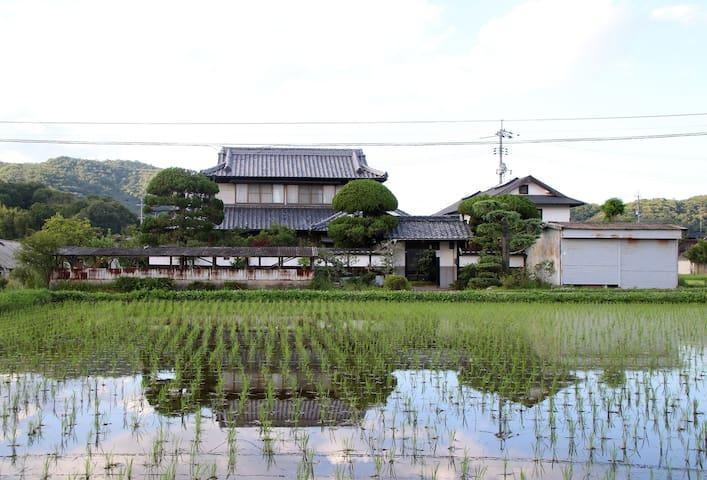 冈山市的民宿