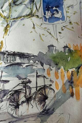 德罗讷河畔奥伯特雷的体验