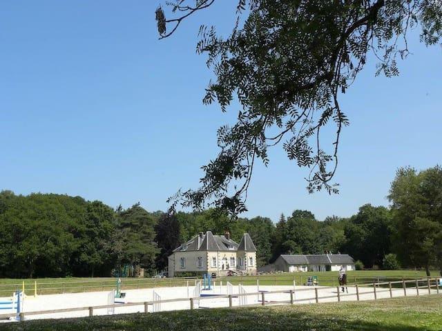 Le Tronquay的民宿