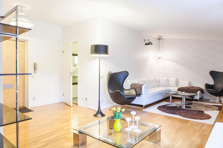 74 sqm well equipped apartment