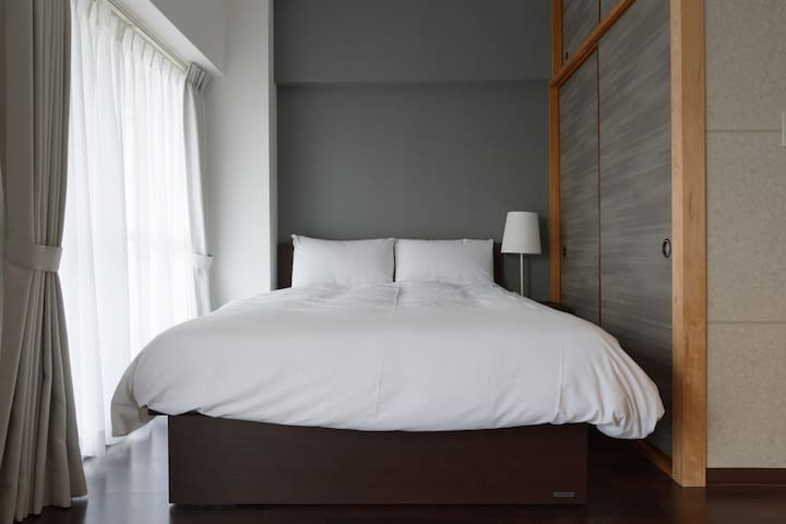405/2ppl/Sleep like the locals/Queen bed room