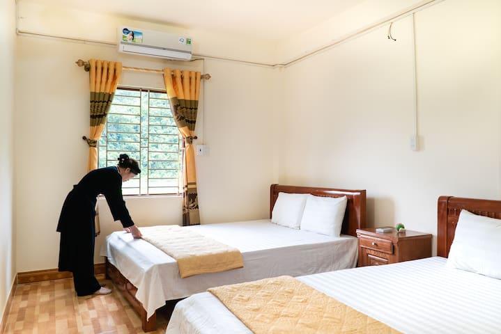 Nam Mau commune的民宿