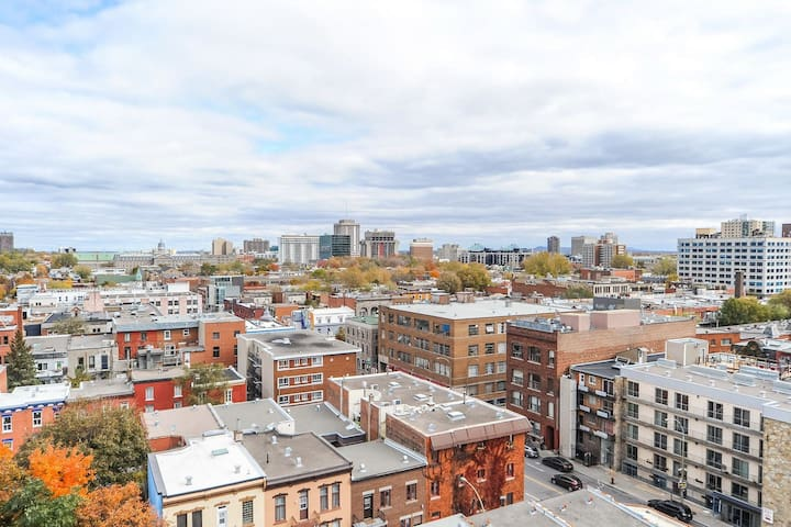 Phenomenal Apartment with Nice View of Mount Royal