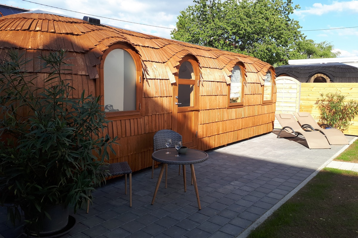 Tinyhouse Zollernalb mit privater Sauna