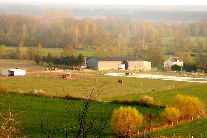 Mareil-sur-Loir的民宿