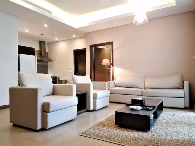 Cozy & spacious 1BR in the heart of Bahrain