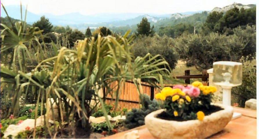 普罗旺斯地区莱博的民宿