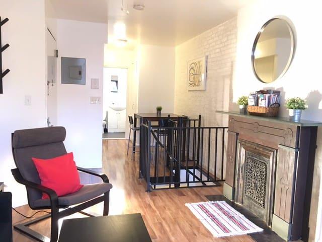 Charming Duplex in Manhattan