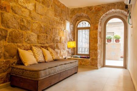 Authentic Jerusalem Stone House - City Center