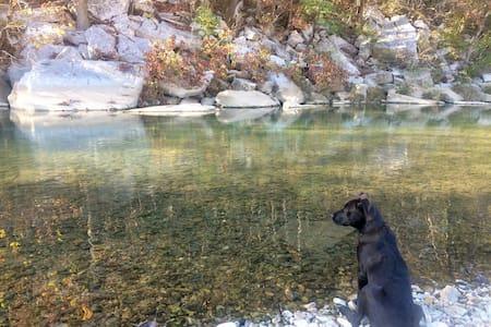 Sobe's-Upon-Sylamore ~Creek Cabin