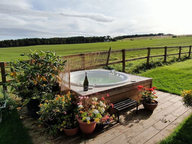 Belsesmoor luxury cottage - Spa bath and suana