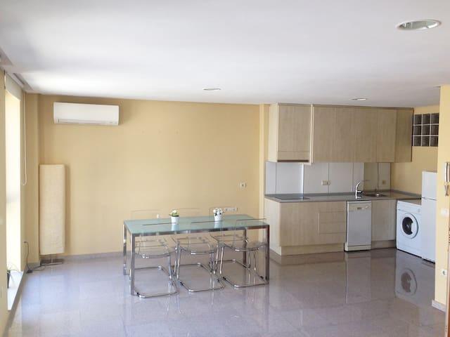 Modern open plan apartment in Banyeres de Mariola