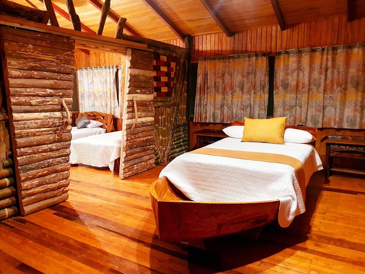 Cabaña Familiar, Piscina, hidromasaje, sauna turco
