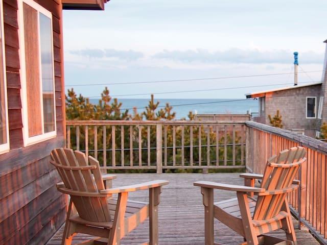 Treetop beach house with amazing views