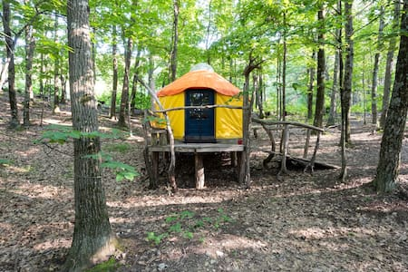 Magic Forest Farm Yurt