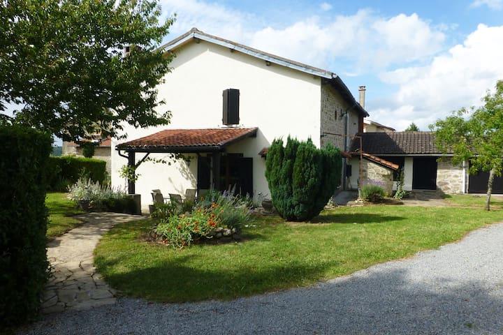 Beautiful French Stone Farmhouse in Haute Vienne
