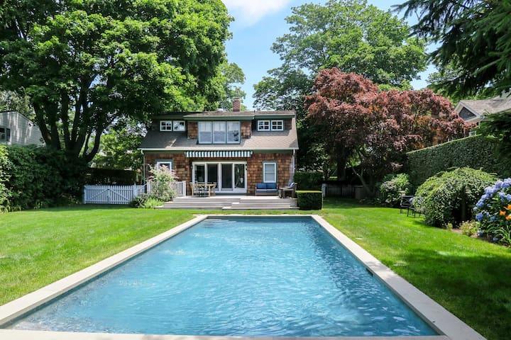 Southampton Village Home w/ Pool - 5 Min to Beach!