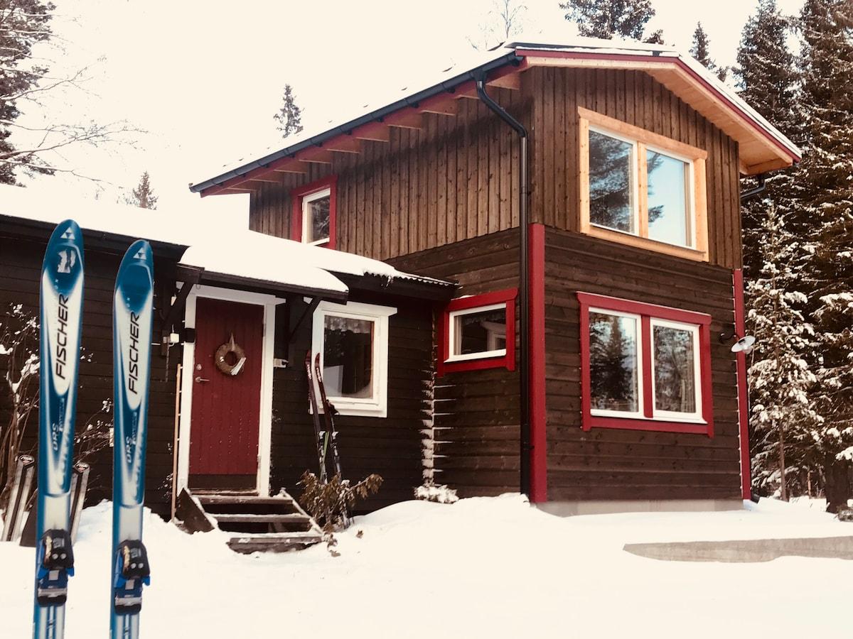 Loved nature/mountain cottage Åre Vålådalen Ottsjö