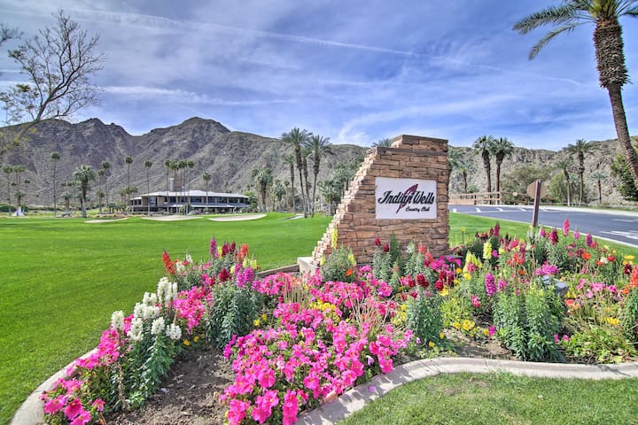 NEW! Chic Indian Wells Resort Condo w/Pool & Patio