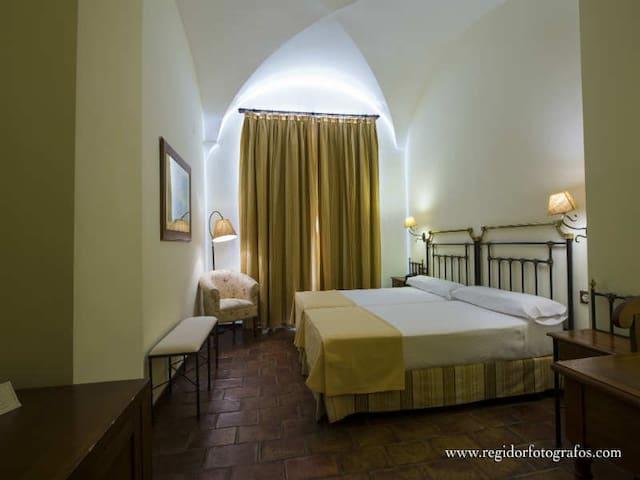 Habitación Doble con dos camas en Hotel Boutique