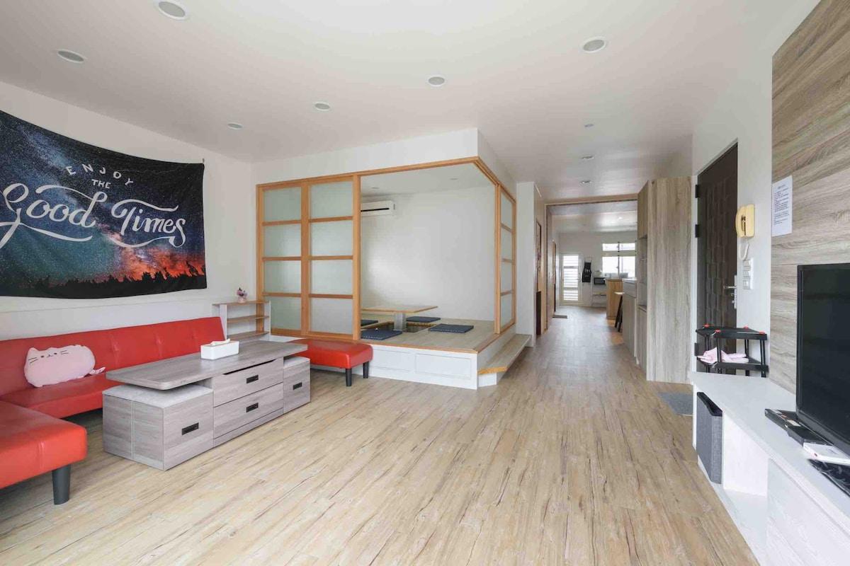 彩虹🌈之廈(每日一組房客,2-6人)三房兩廳兩衛享有私人空間