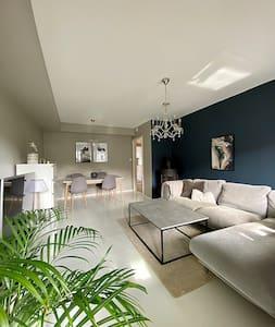Moderne leilighet med gode turmuligheter.