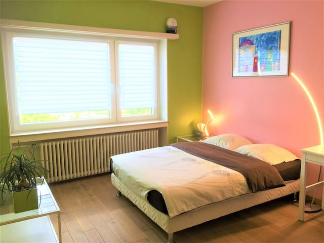 Cozy bedroom in Luxembourg city
