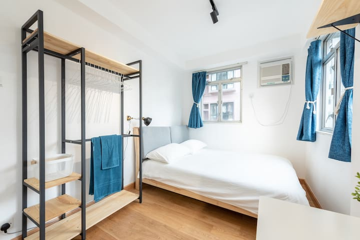 Modern Double Room in Shared Apt. on Hollywood Rd.