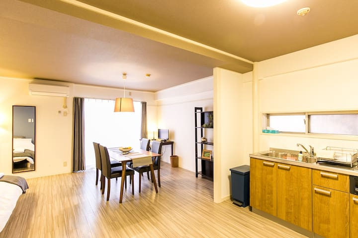 Max 10ppl☆Near Sakae☆6-min to Nagoya Station★wi-fi