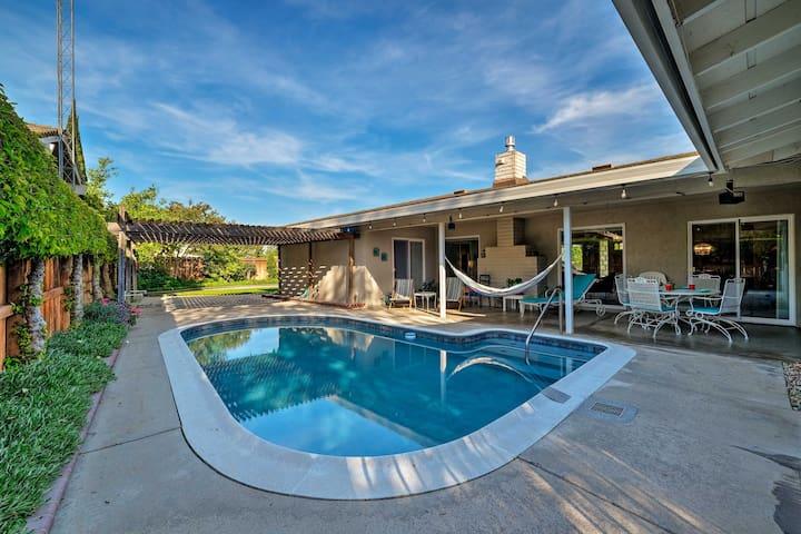 Family-Friendly Ripon Home w/ Private Pool & Patio