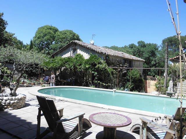Massillargues-Attuech的民宿