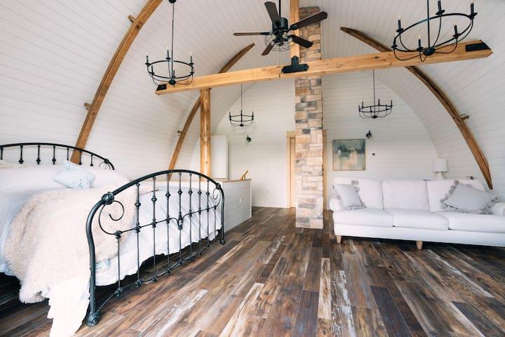 Luxury Barn House