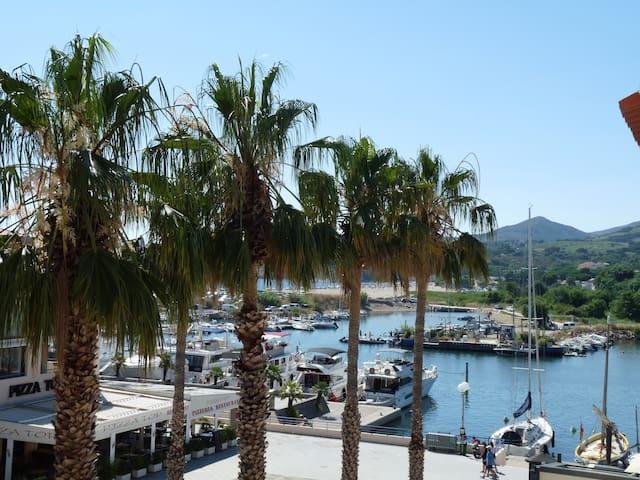 Le nid de la Mouette: terrasse,vue mer, plage 200m