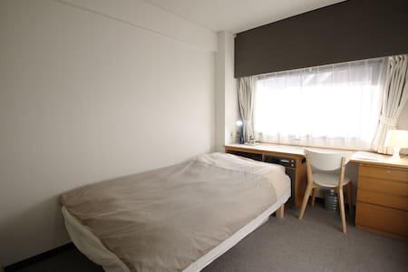 大阪梅田:1居室公寓#(PHONE NUMBER HIDDEN)平方英尺&WiFi