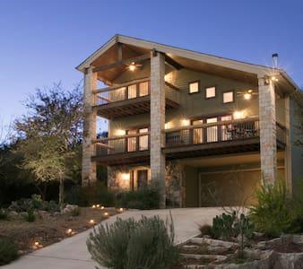 3 Story House Over Lake Austin