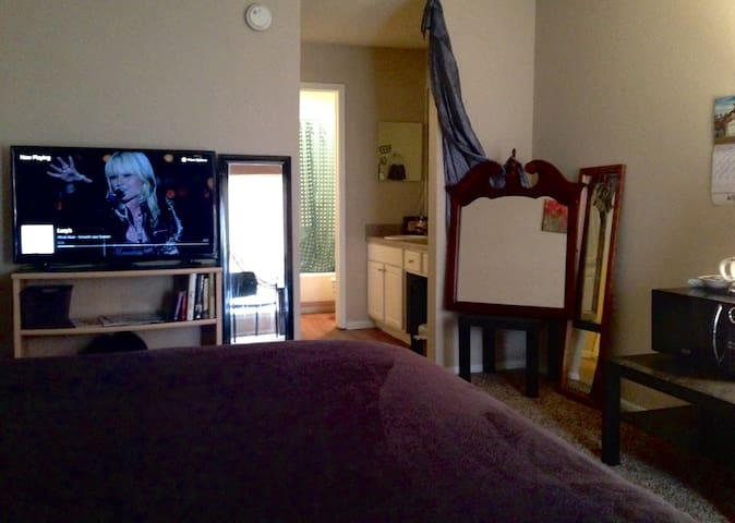DeluXe SuiTe: Private Master Bedroom/Closet/Bath