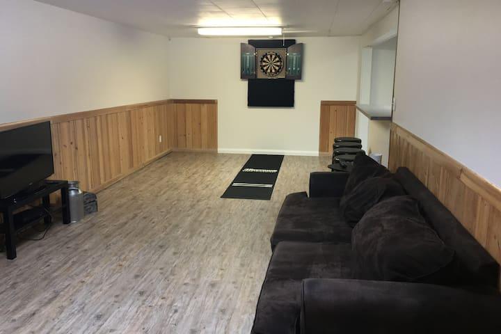 Renovated full basement in South Lethbridge