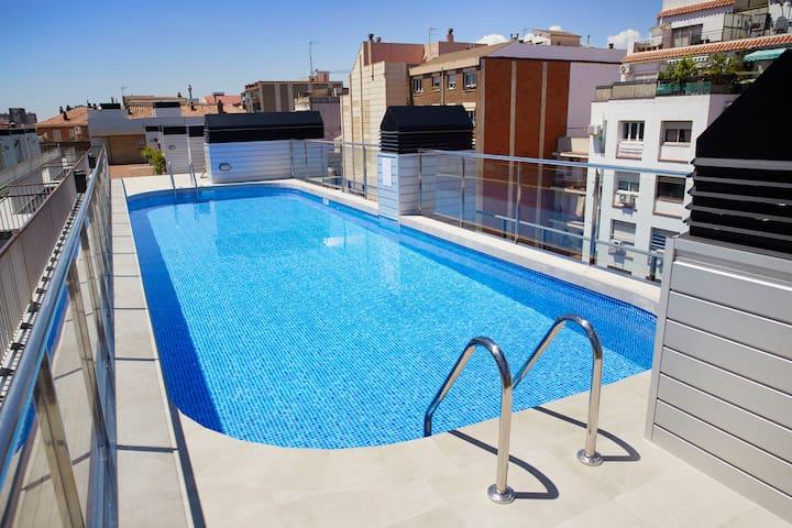 1 Bedroom Apartment at BCN Montjuic Aparthotel
