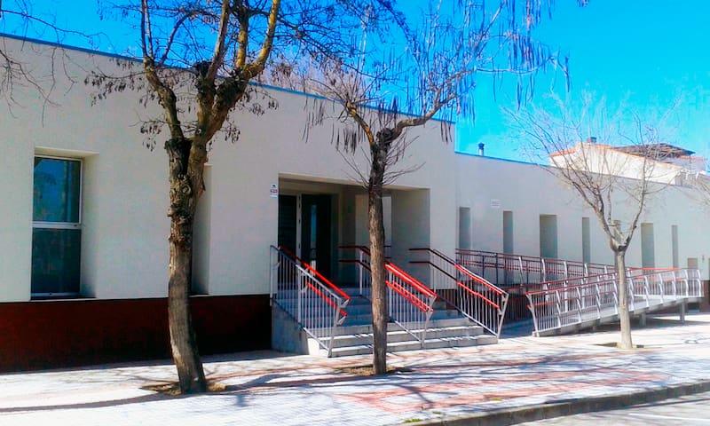 Albergue municipal cercano a Cáceres