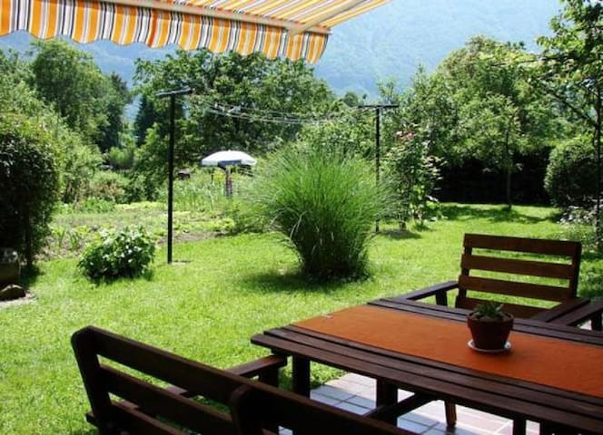 Beautiful apartment with mountain view in Bovec