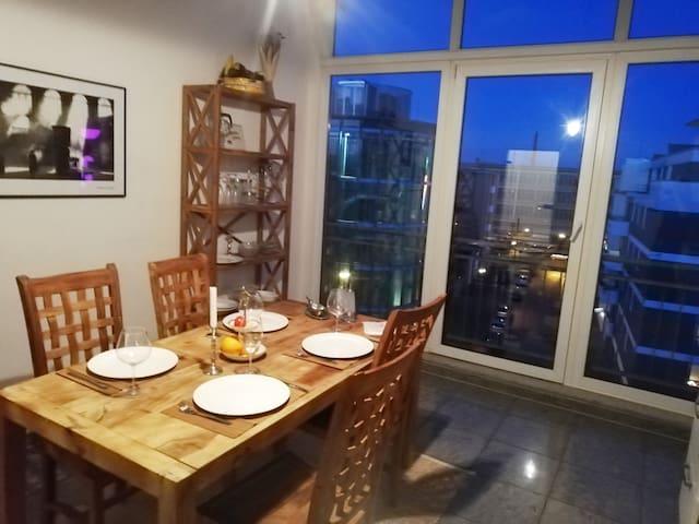 Penthousewohnung 126 qm Innenstadt+ Dachterrasse