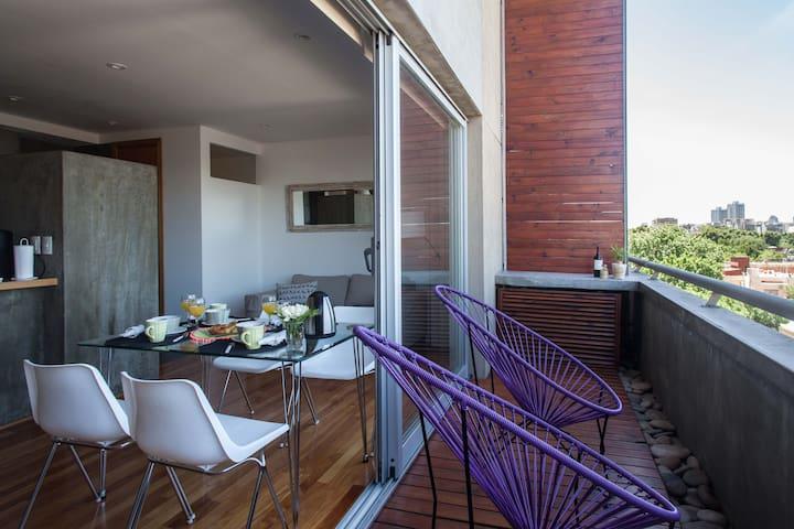 New!! Palermo! 2 dormitorios,4 pax.