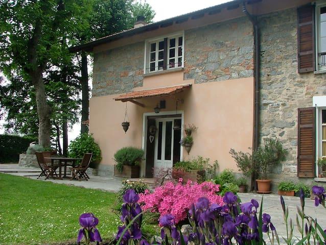 romantic house and wonderful sight