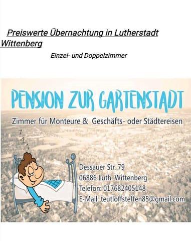 Lutherstadt Wittenberg的民宿