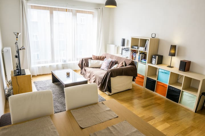 Spacious apartment in a modern and vibrant area