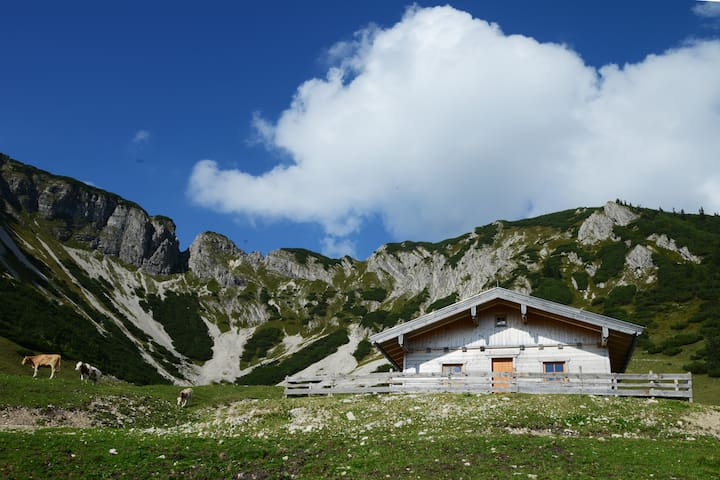 Chalet in the Tyrolean Alps