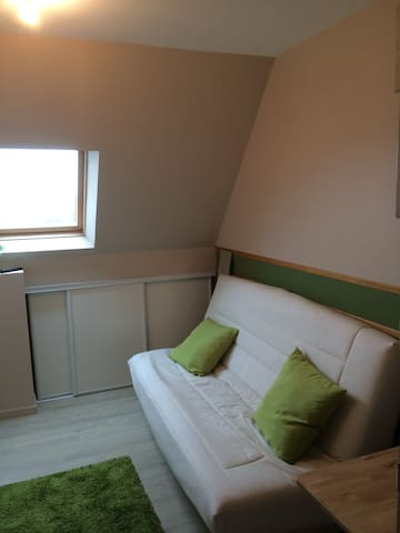 Furnished flat close to Caen center