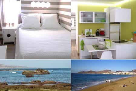 Beutiful apart right on the beach