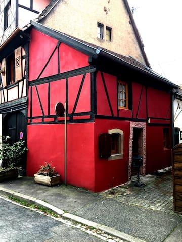 奥贝尔奈 (Obernai)的民宿